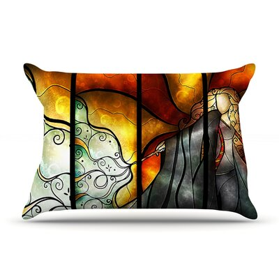 Expecto Patronum by Mandie Manzano Featherweight Pillow Sham Size: Queen, Fabric: Woven Polyester