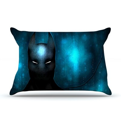 Dark Knight by Mandie Manzano Featherweight Pillow Sham Size: King, Fabric: Woven Polyester