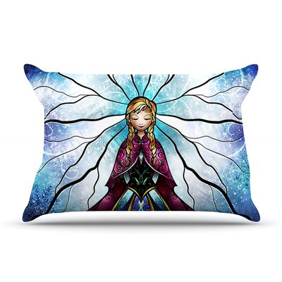 The Little Sister by Mandie Manzano Featherweight Pillow Sham Size: King, Fabric: Woven Polyester
