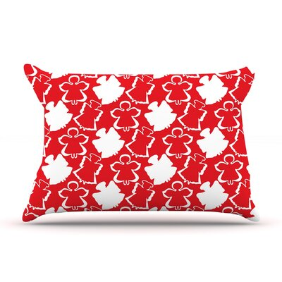 Dancing Angels by Miranda Mol Featherweight Pillow Sham Size: King, Fabric: Woven Polyester