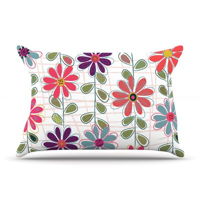 Fall Flowers by Jolene Heckman Featherweight Pillow Sham Size: Queen, Fabric: Woven Polyester