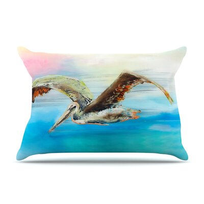 Josh Serafin Coast Ocean Bird Pillow Case