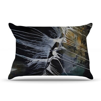 Bones by Steve Dix Featherweight Pillow Sham Size: King, Fabric: Woven Polyester