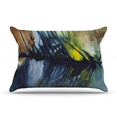 Gravity Falling by Steve Dix Featherweight Pillow Sham Size: Queen, Fabric: Woven Polyester
