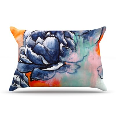 Bloom by Sonal Nathwani Featherweight Pillow Sham Size: King, Fabric: Woven Polyester
