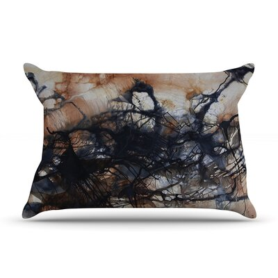 Looking for Water by Steve Dix Featherweight Pillow Sham Size: King, Fabric: Woven Polyester