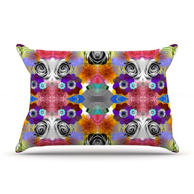 Tropical Flowers by Vasare Nar Featherweight Pillow Sham Size: King, Fabric: Woven Polyester