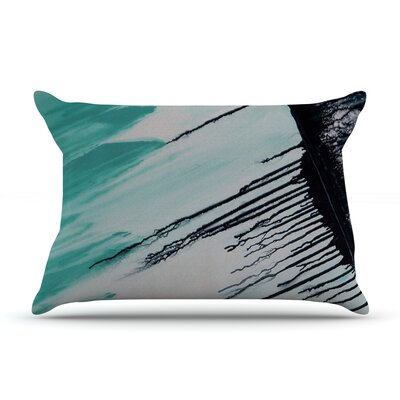 Extractions by Steve Dix Featherweight Pillow Sham Size: King, Fabric: Woven Polyester