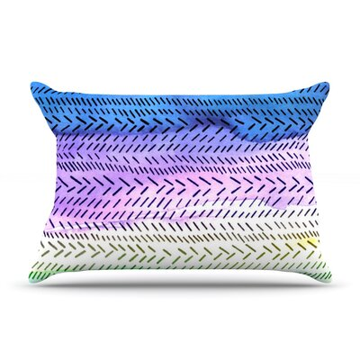 Aqua by Sreetama Ray Featherweight Pillow Sham Size: King, Fabric: Woven Polyester