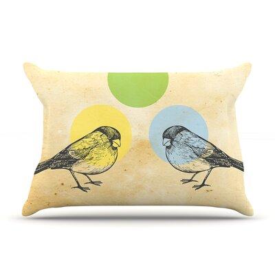 Sreetama Ray  Paper Birds Pillow Case