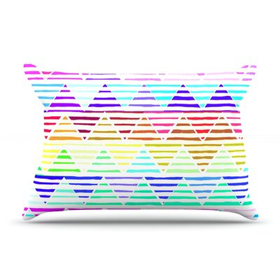 Stripes Cushion by Sreetama Ray Featherweight Pillow Sham Size: King, Fabric: Woven Polyester