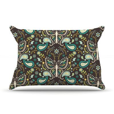 Butterfly Garden by Suzie Tremel Featherweight Pillow Sham Size: King, Fabric: Woven Polyester