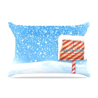North Pole by Snap Studio Featherweight Pillow Sham Size: King, Fabric: Woven Polyester