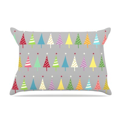 Crazy Trees by Snap Studio Featherweight Pillow Sham Size: King, Fabric: Woven Polyester