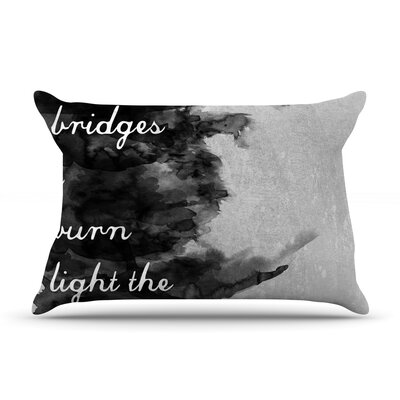 Bridges by Skye Zambrana Featherweight Pillow Sham Size: Queen, Fabric: Woven Polyester