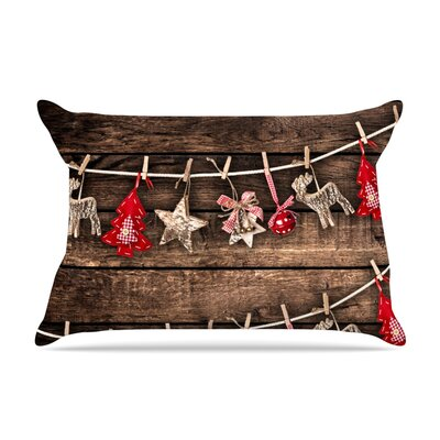 Hanging Around by Snap Studio Featherweight Pillow Sham Size: Queen, Fabric: Woven Polyester