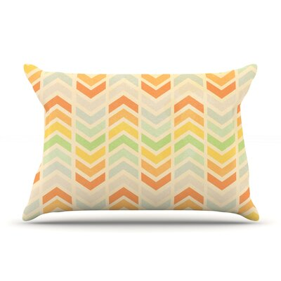 Infinity by Skye Zambrana Featherweight Pillow Sham Size: King, Fabric: Woven Polyester