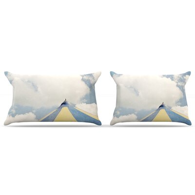 Carnival Tent by Susannah Tucker Featherweight Pillow Sham Size: King, Fabric: Woven Polyester