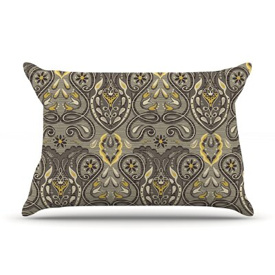 Vintage Damask by Suzie Tremel Featherweight Pillow Sham Size: King, Fabric: Woven Polyester