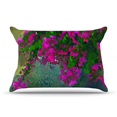 Khushbu by S. Seema Z Featherweight Pillow Sham Size: King, Fabric: Woven Polyester