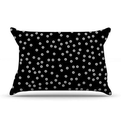 Watercolor Dots by Skye Zambrana Featherweight Pillow Sham Size: King, Fabric: Woven Polyester