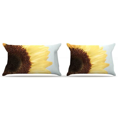 Sunshine by Susannah Tucker Featherweight Pillow Sham Size: King, Fabric: Woven Polyester