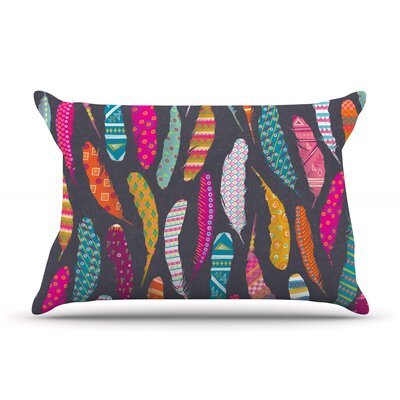 Flight Pattern by Skye Zambrana Featherweight Pillow Sham Size: King, Fabric: Woven Polyester