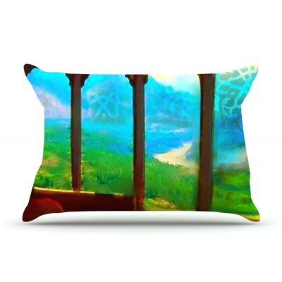 Mountain Retreat by S. Seema Z Featherweight Pillow Sham Size: Queen, Fabric: Woven Polyester