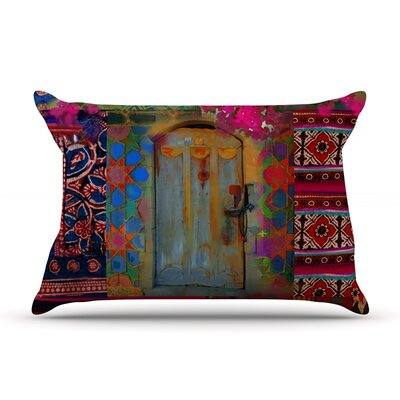 Ethnic Escape by S. Seema Z Featherweight Pillow Sham Size: Queen, Fabric: Woven Polyester
