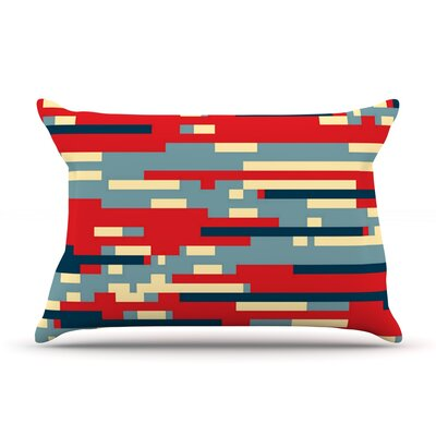 Nada by Trebam Featherweight Pillow Sham Size: King, Fabric: Woven Polyester