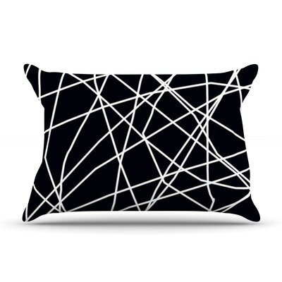 Paucina by Trebam Featherweight Pillow Sham Size: Queen, Fabric: Woven Polyester