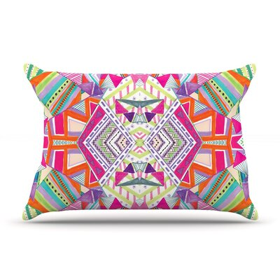 Carrousel by Vasare Nar Featherweight Pillow Sham Size: King, Fabric: Woven Polyester