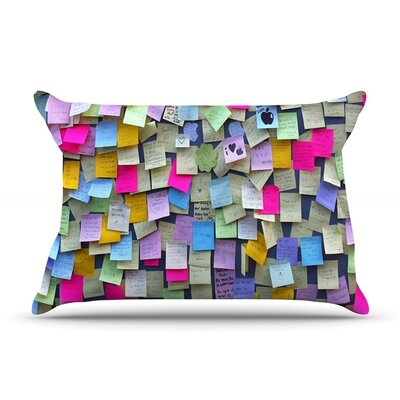Respekt by Trebam Featherweight Pillow Sham Size: King, Fabric: Woven Polyester