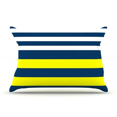 Nauticki by Trebam Featherweight Pillow Sham Size: King, Fabric: Woven Polyester