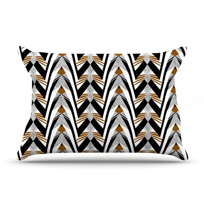 Wings by Vikki Salmela Featherweight Pillow Sham Size: Queen, Fabric: Woven Polyester