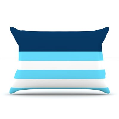 Nauticki Blue by Trebam Featherweight Pillow Sham Size: King, Fabric: Woven Polyester