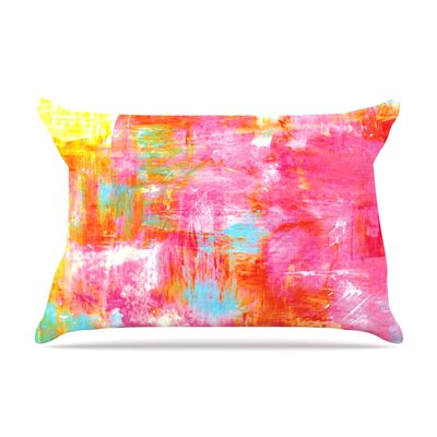 Off The Grid III by Ebi Emporium Featherweight Pillow Sham Size: King, Fabric: Woven Polyester