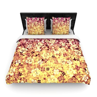 Flower Power Duvet Cover Size: Queen, Fabric: Cotton