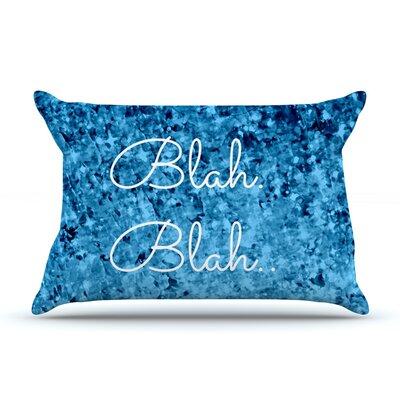 Ebi Emporium Blah Blah Blah Glitter Pillow Case