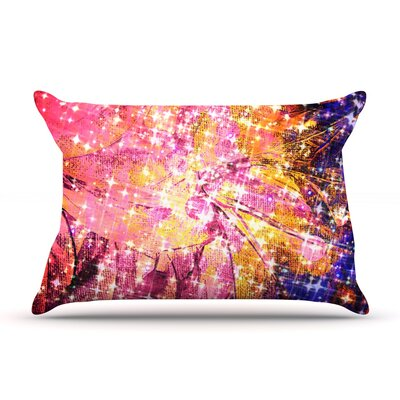 Out There by Ebi Emporium Featherweight Pillow Sham Size: King, Fabric: Woven Polyester