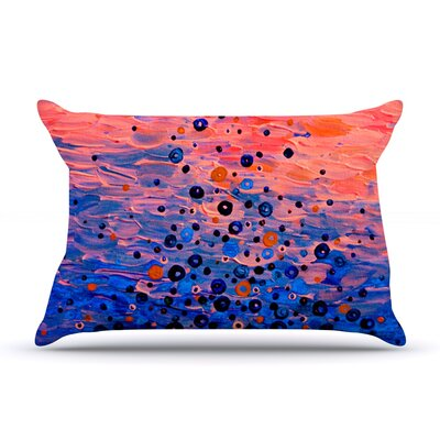 What Goes Up by Ebi Emporium Featherweight Pillow Sham Size: Queen, Fabric: Woven Polyester