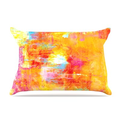 Ebi Emporium Off The Grid Rainbow Pillow Case Color: Rainbow