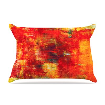 Autumn Harvest by Ebi Emporium Featherweight Pillow Sham Size: King, Fabric: Woven Polyester