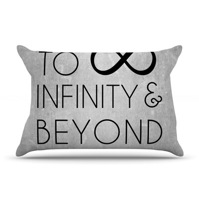 To Infinity & Beyond Featherweight Pillow Sham Size: Queen, Fabric: Woven Polyester