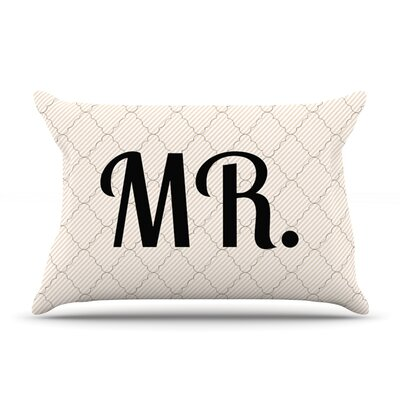 MR Featherweight Pillow Sham Size: Queen, Fabric: Woven Polyester