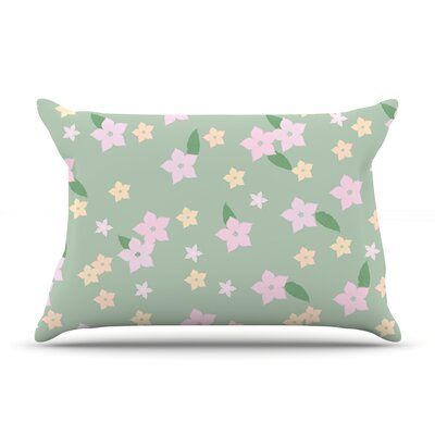 Spring Floral Pillow Case