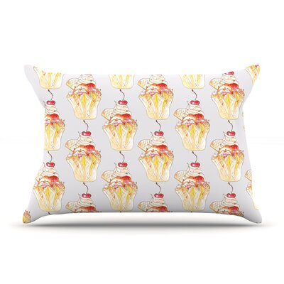 Cake by Louise Featherweight Pillow Sham Size: Queen, Fabric: Woven Polyester