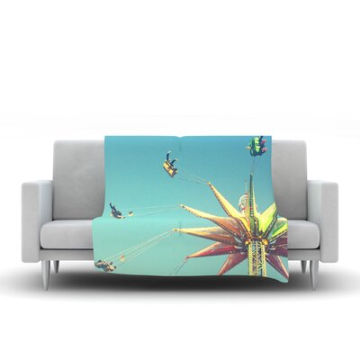 Flying Chairs Throw Blanket Size: 80 L x 60 W