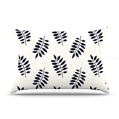 Pagoda Leaf Small by Laurie Baars Featherweight Pillow Sham Size: King, Fabric: Woven Polyester