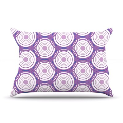 Labyrinth by Louise Featherweight Pillow Sham Size: King, Fabric: Woven Polyester